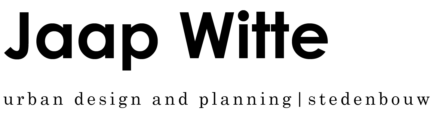 ir. Jaap Witte   urban planning and design stedenbouw